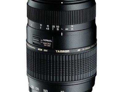 Tamron AF 70-300mm f/4-5.6 Di LD Macro voor Canon
