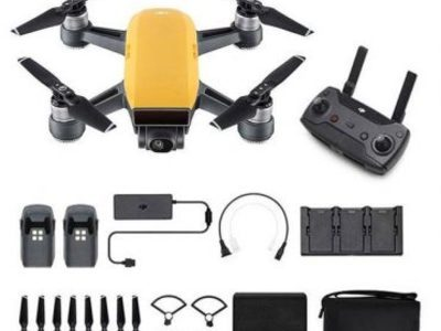 DJI Spark Sunrise Yellow Fly More Combo