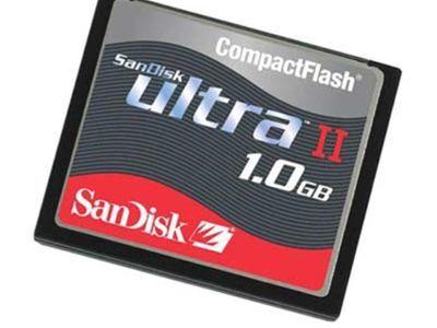 SanDisk CompactFlash Ultra 1GB (CF-kaart)