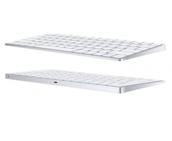 Apple Magic Keyboard + Apple Magic Mouse 2 Zilver