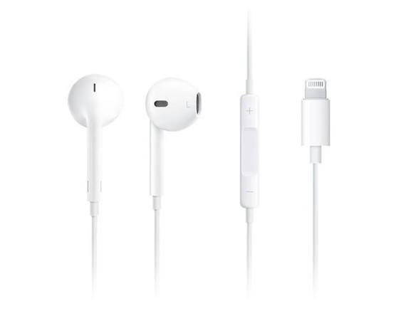 Apple Earpods (Lightning-connector)
