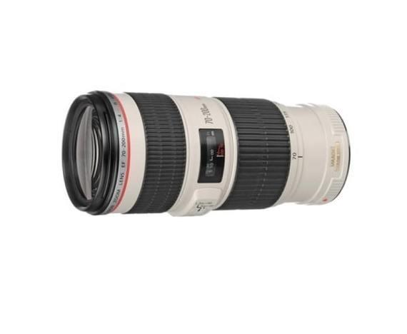 Canon EF 70-200mm f/4 L IS USM + ET-74 zonnekap
