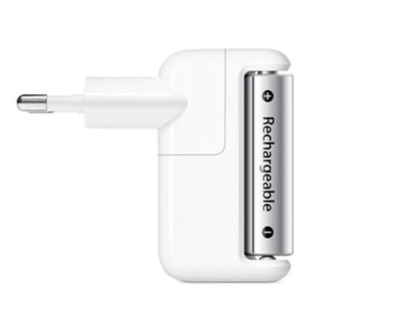 Apple Battery Charger met 4 oplaadbare batterijen