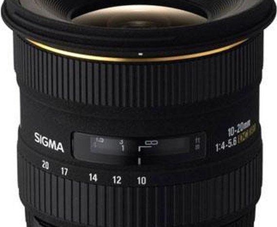 Sigma 10-20mm f/4-5.6 EX DC HSM (voor Canon)