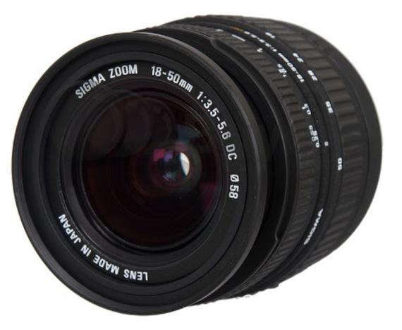 Sigma 18-50mm f/3.5-5.6 DC (voor Canon)