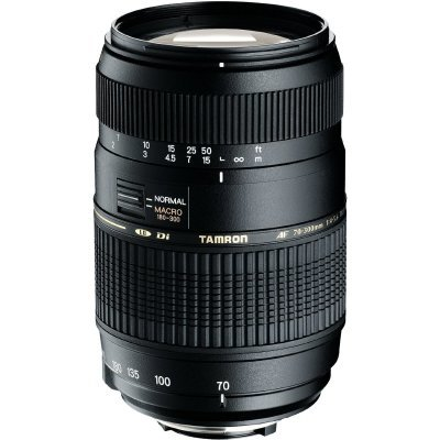 Tamron AF 70-300mm f/4-5.6 Di LD Macro voor Canon