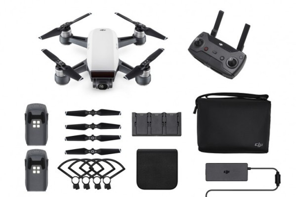 DJI Spark Alpine White - Fly More Combo