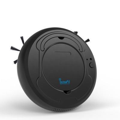 BowAI Smart Robotstofzuiger - Zwart - Intelligente Automatische Robot Stofzuiger - Stofzuigen, Vegen en Dweilen