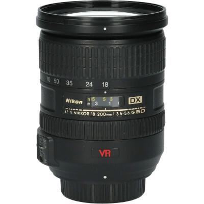 Nikon AF-S 18-200mm f/3.5-5.6 G VR DX ED + Zonnekap HB-35