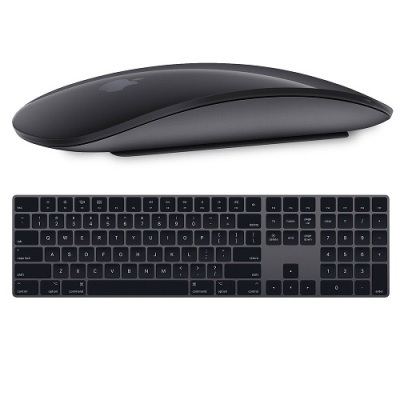 Apple Magic Keyboard met Numpad + Magic Mouse 2 Space Gray