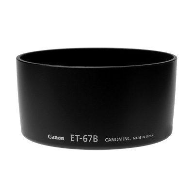 Canon ET-67B zonnekap voor Canon EF-S 60mm f/2.8 Macro USM